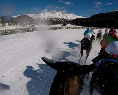 realTV in St. Moritz beim schönsten Pferderennen der Welt