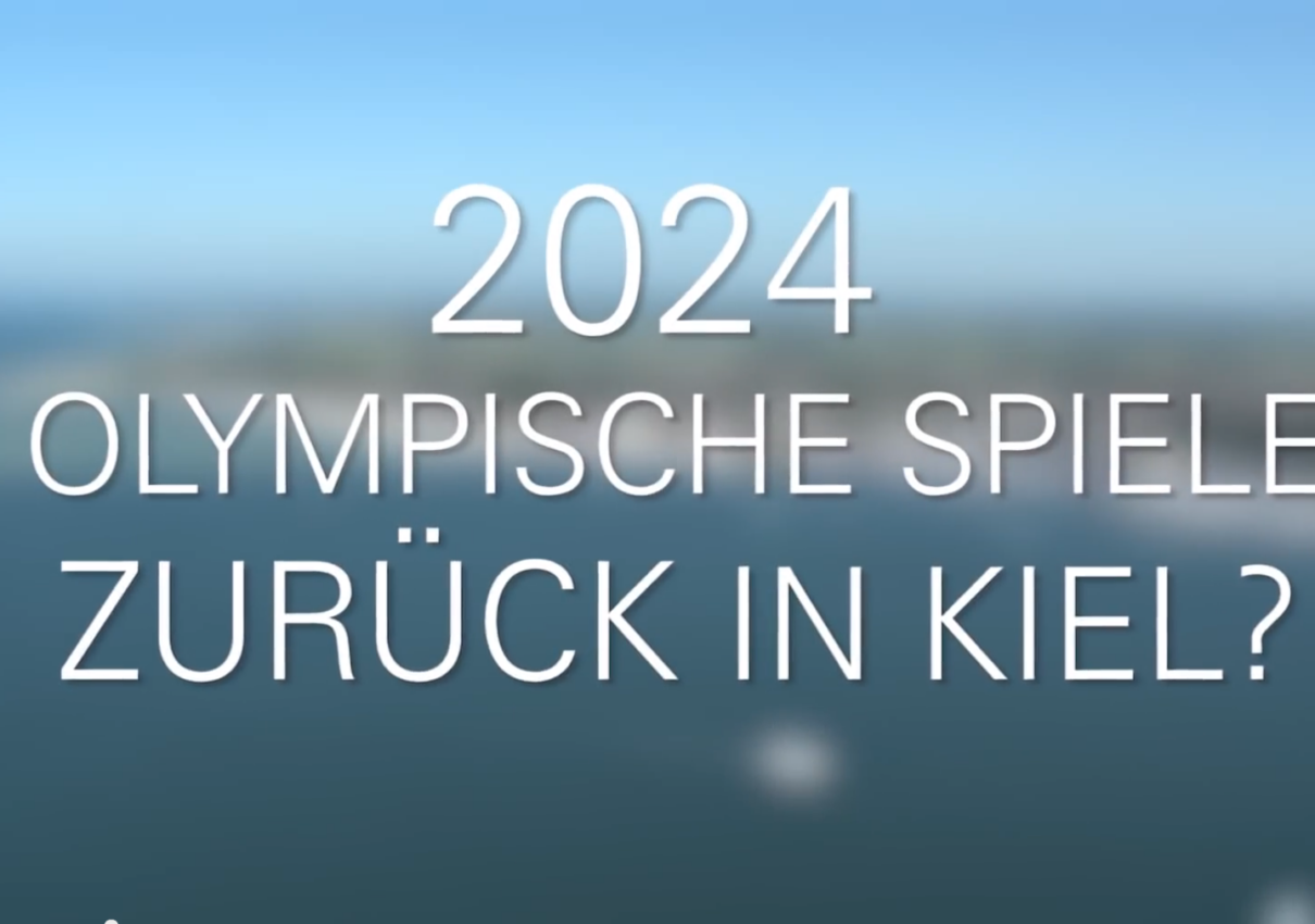 Kiel ist bereit für OLYMPIA 2024