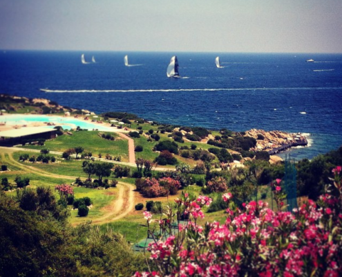 52 Super Series on the Costa Smeralda (Sardinia)