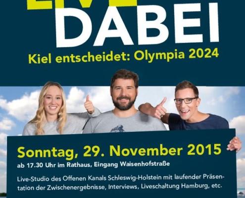 LIVE DABEI - Kiel entscheidet: Olympia 2024