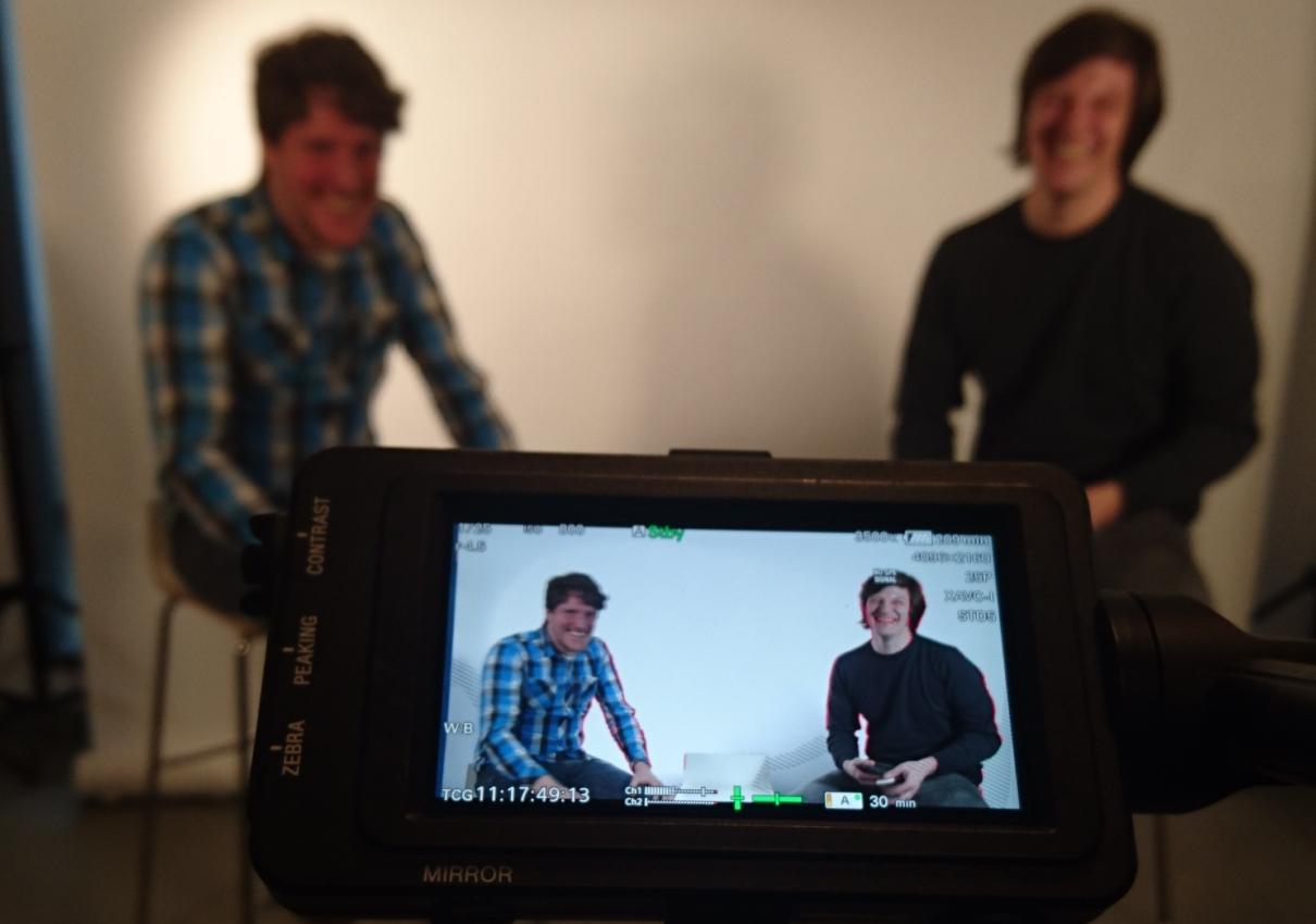 "Videodreh mit Virtual Reality Startup ""Occube"""