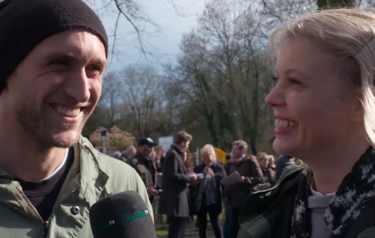 Videoproduktion auf der Kölner Rennbahn beim FC-Renntag