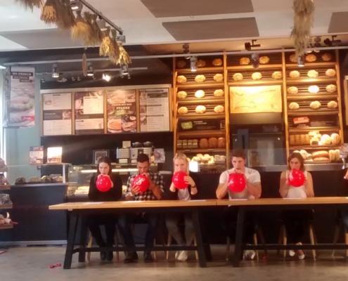 Werbespot-Dreh für Junge Die Bäckerei