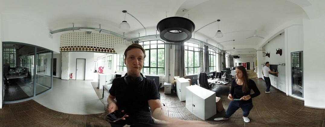 Magnus bei Text der neuen 360°-Kamera Insta360 Pro