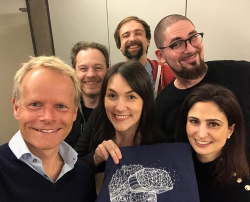 Der neugewählte Vorstand von nextReality.hamburg setzt sich für Zukunftstechnologien am Standort Hamburg ein